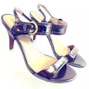 Liz Claiborne Women's Shoes Pewter Sandal